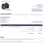 Photographers - Manage your Process and get paid quicker with Paper Free Billing
