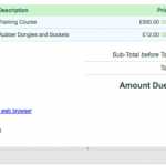 Extra Functionality making Invoicing even Simpler